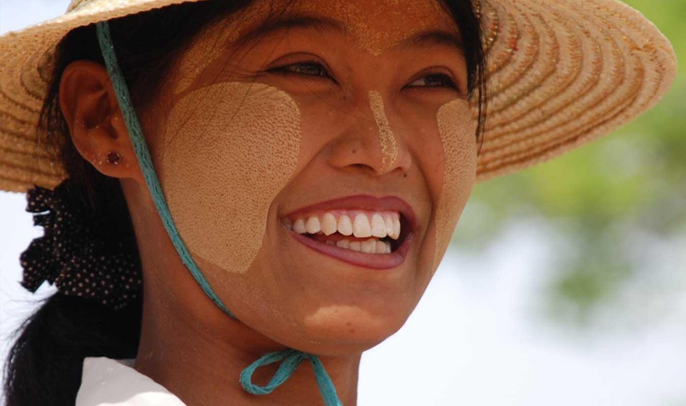 Birmanie-Burma-Thanaka