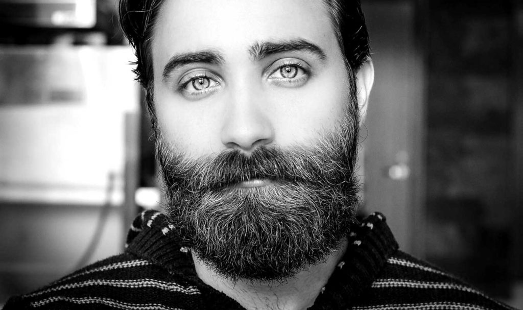 homme barbe