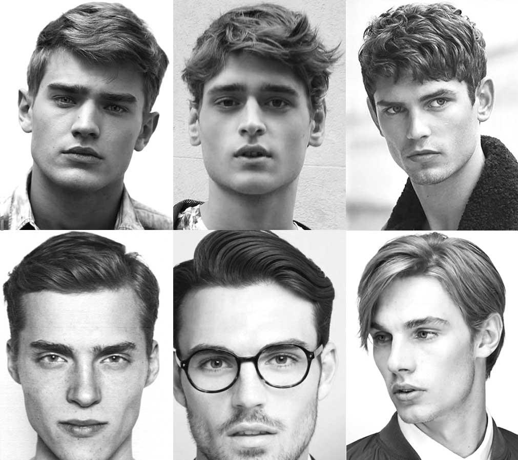Coiffures longues pour hommes pour visage long