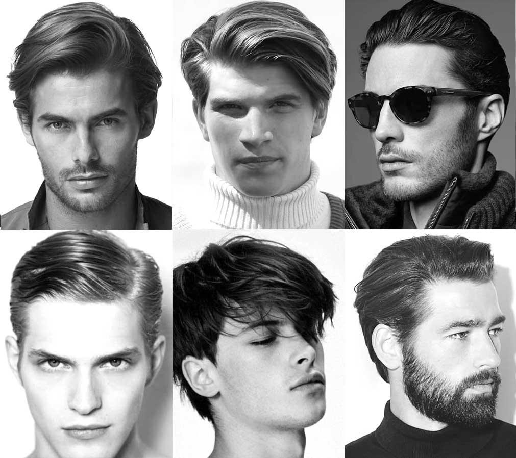 Coupe de cheveux pour brun homme