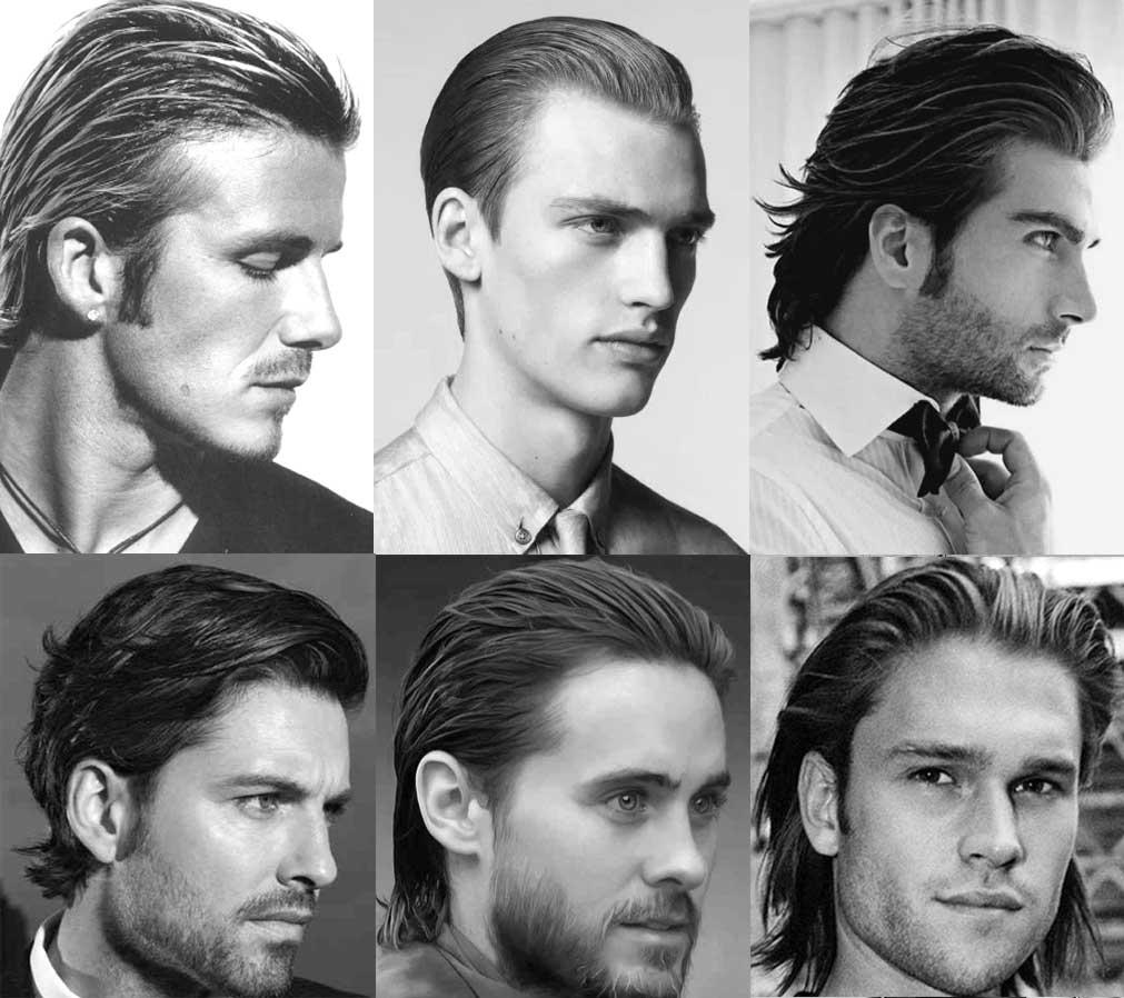 cheveux long plaqué arrière : coiffure tendance 2018 homme