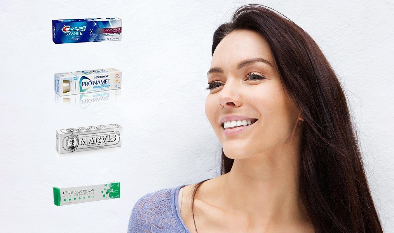 Quel est le meilleur dentifrice blancheur ?